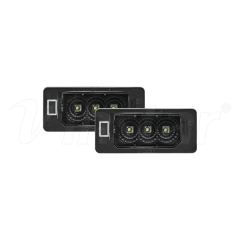 High Power BMW E39 LED License Plate Lamp (Smoke+CREE LED)
