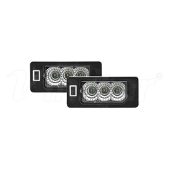 High Power BMW E39 LED License Plate Lamp (Clear+CREE LED)