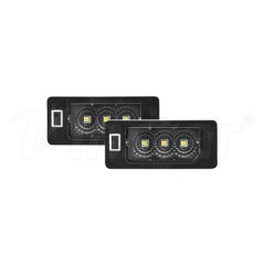 High Power BMW E39 LED License Plate Lamp (Smoke)