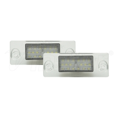 Audi A4 LED License Plate Lamp