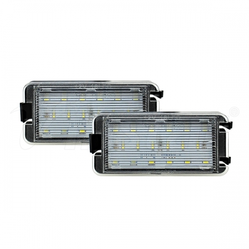 Seat LED License Plate Lamp