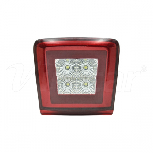 Nissan LED 4th Brake Lamp (Red+Clear)