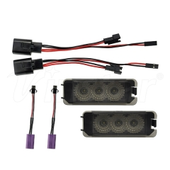 High Power VW Golf 6 Canbus LED License Plate Lamp (Smoke+CREE LED)