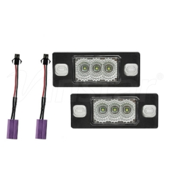 High Power VW/Porsche Canbus LED License Plate Lamp (Clear+CREE LED)