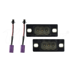 High Power VW/Porsche Canbus LED License Plate Lamp (Smoke)