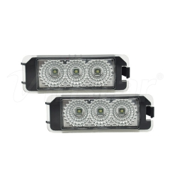 High Power VW Golf 6 Canbus LED License Plate Lamp (Clear)