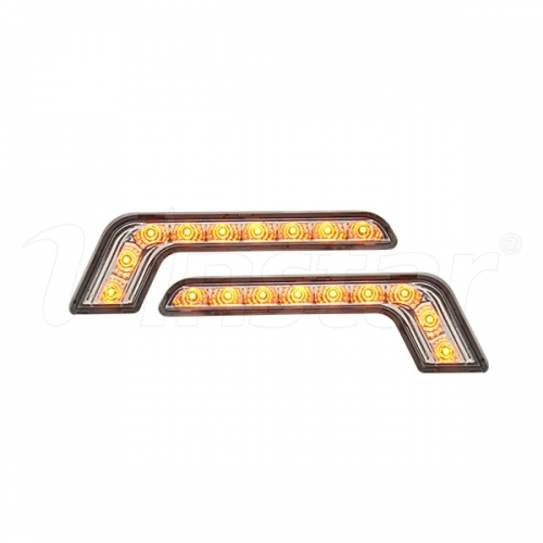 Universal L-shape LED DRL lights(DRL&Side Light)