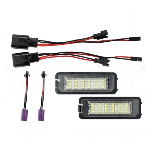W Golf 5/6/7 LED License Plate Lamp