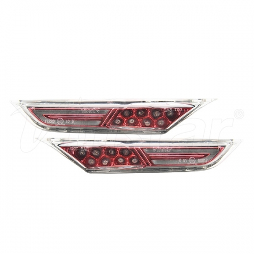 LED Side Markers Lights GT-R R35(Red Lens+Clear)