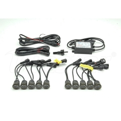 Universal High Power LED DRL Lights(Smoke)