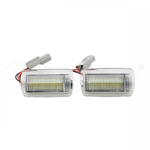 Toyota LED Courtesy Lamp (Red+White)