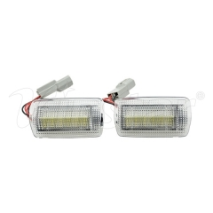 Lexus LED Courtesy Lamp (Red+White)
